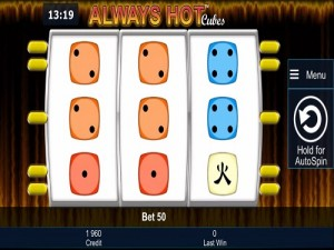 always hot cubes mobiel