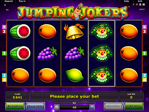Jumping Jokers - Casumo Casino